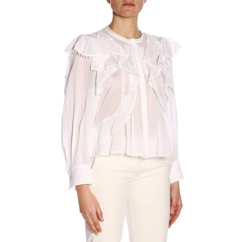 Shirt women Isabel Marant Etoile white 2