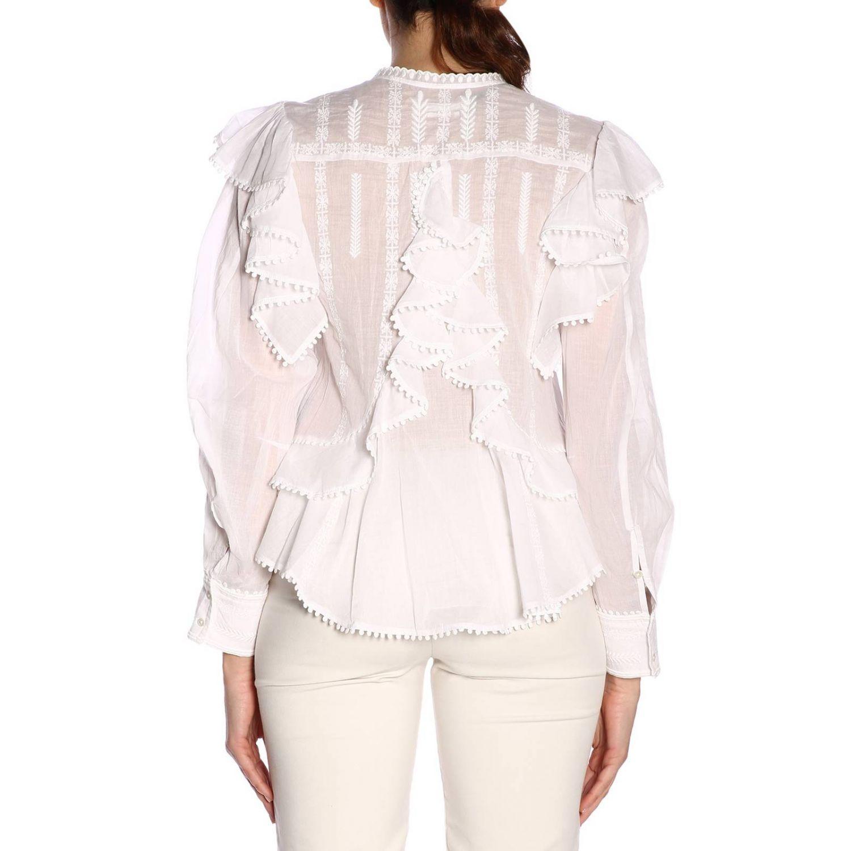 Shirt women Isabel Marant Etoile white 3