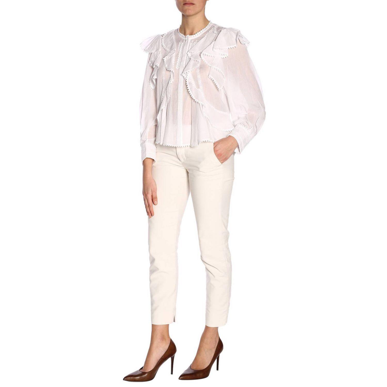 Shirt women Isabel Marant Etoile white 4