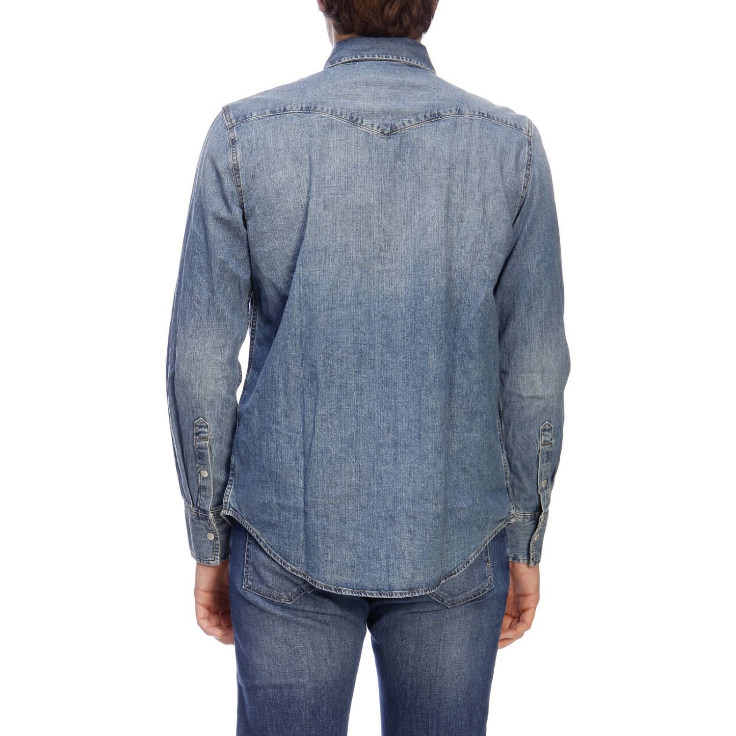 Camicia Calvin Klein Jeans in denim used denim 3
