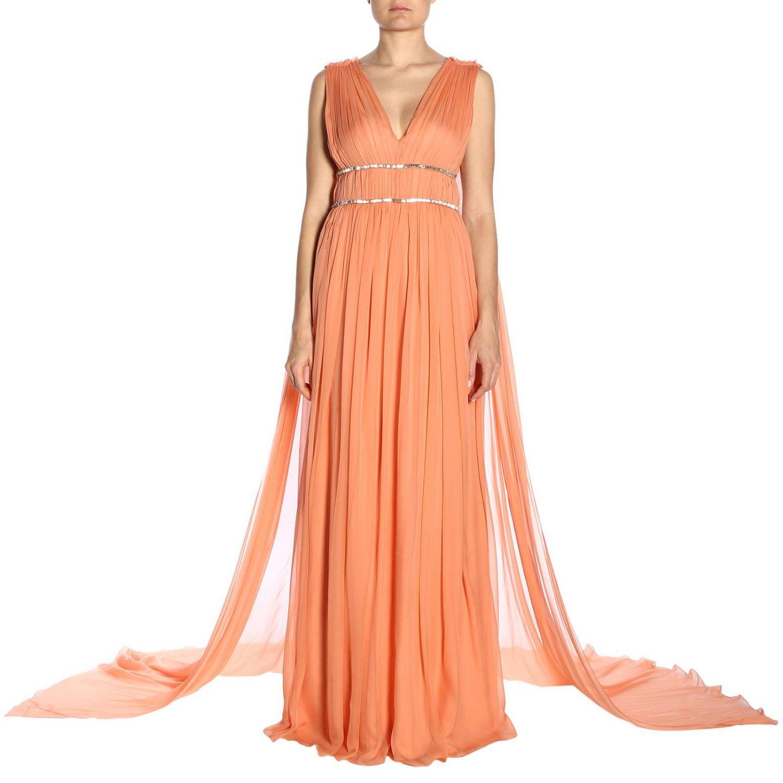 Dress Alberta Ferretti: Dress women Alberta Ferretti salmon 1