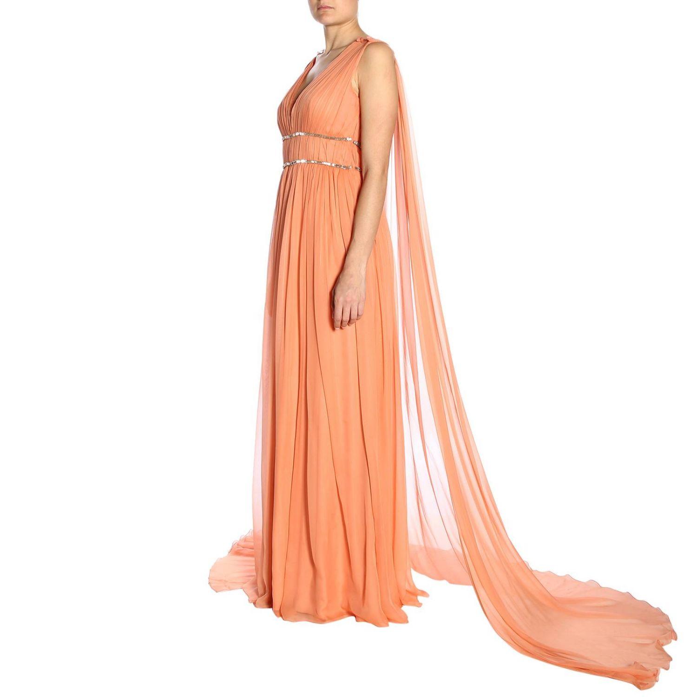 Dress Alberta Ferretti: Dress women Alberta Ferretti salmon 2