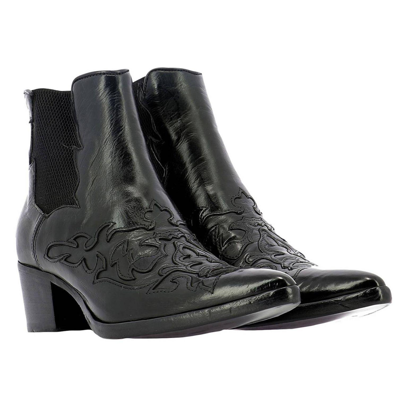 Schuhe damen Alberto Fasciani schwarz 2