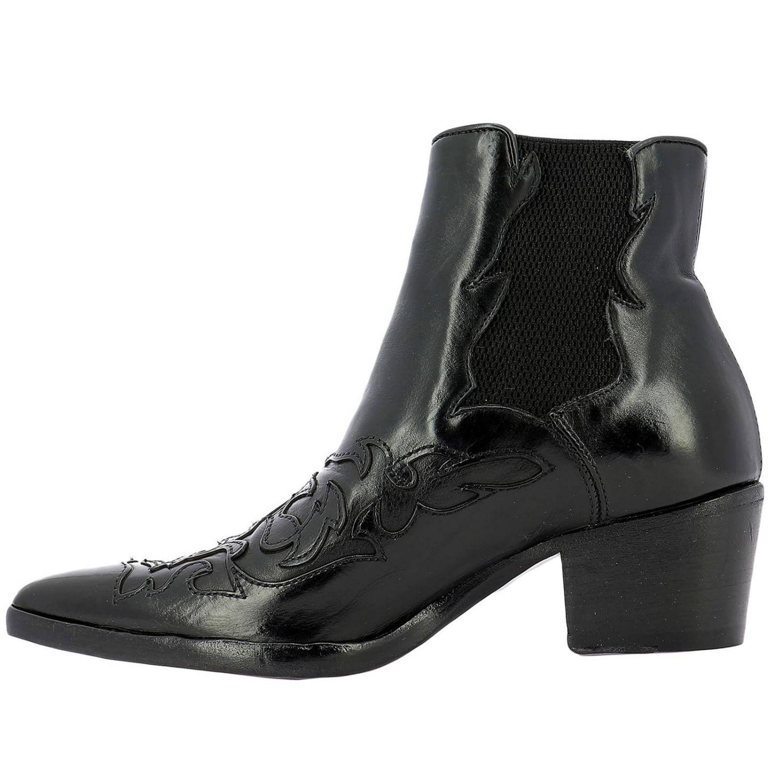 Schuhe damen Alberto Fasciani schwarz 4