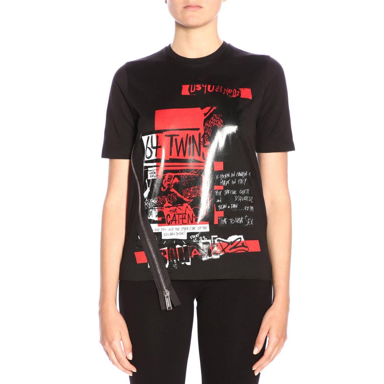 DSQUARED² | T-Shirt T-Shirt Women Dsquared2 | Goxip