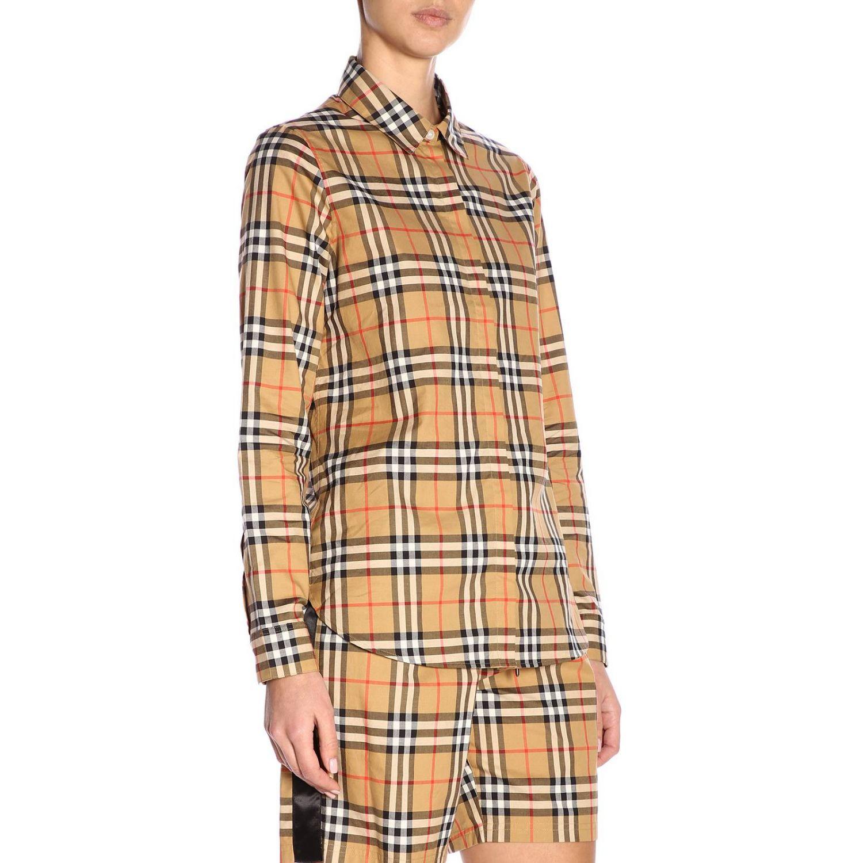 Shirt women Burberry camel 2