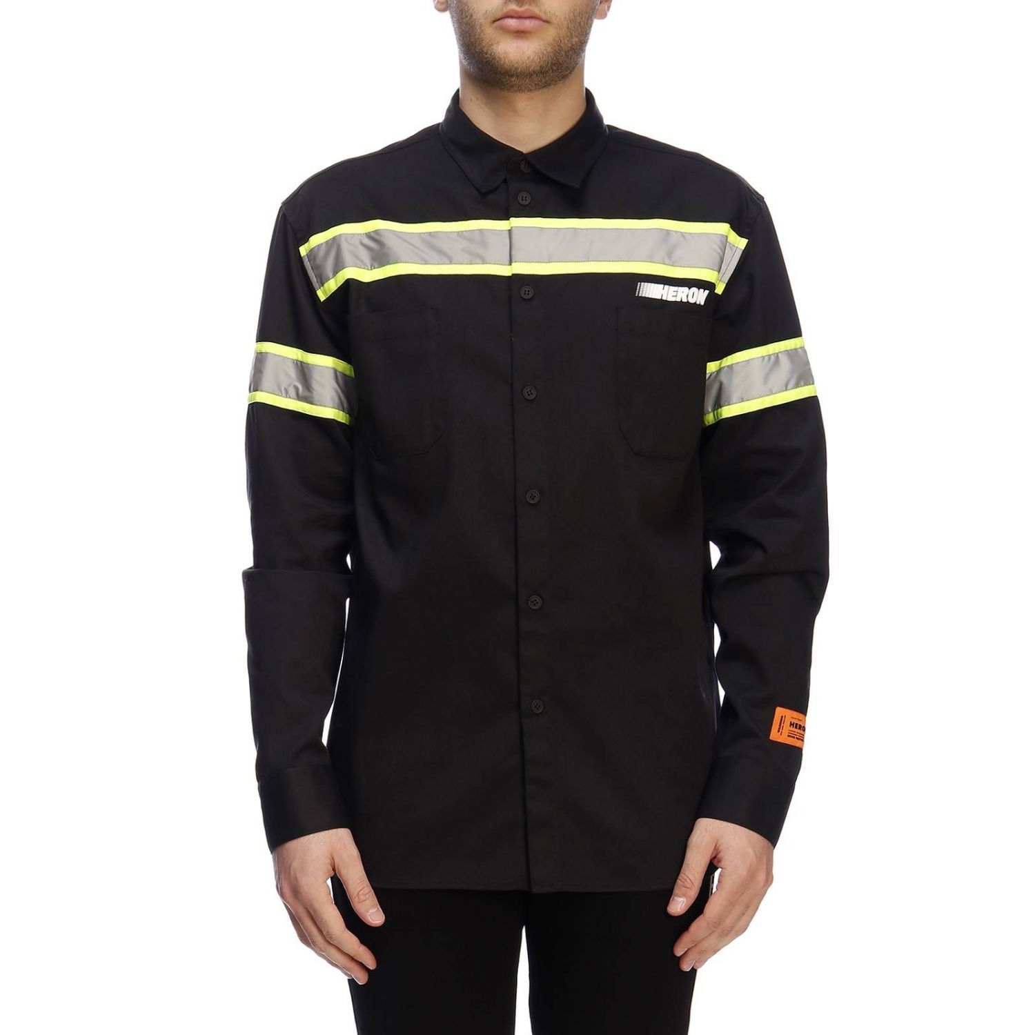 Shirt men Heron Preston black 1