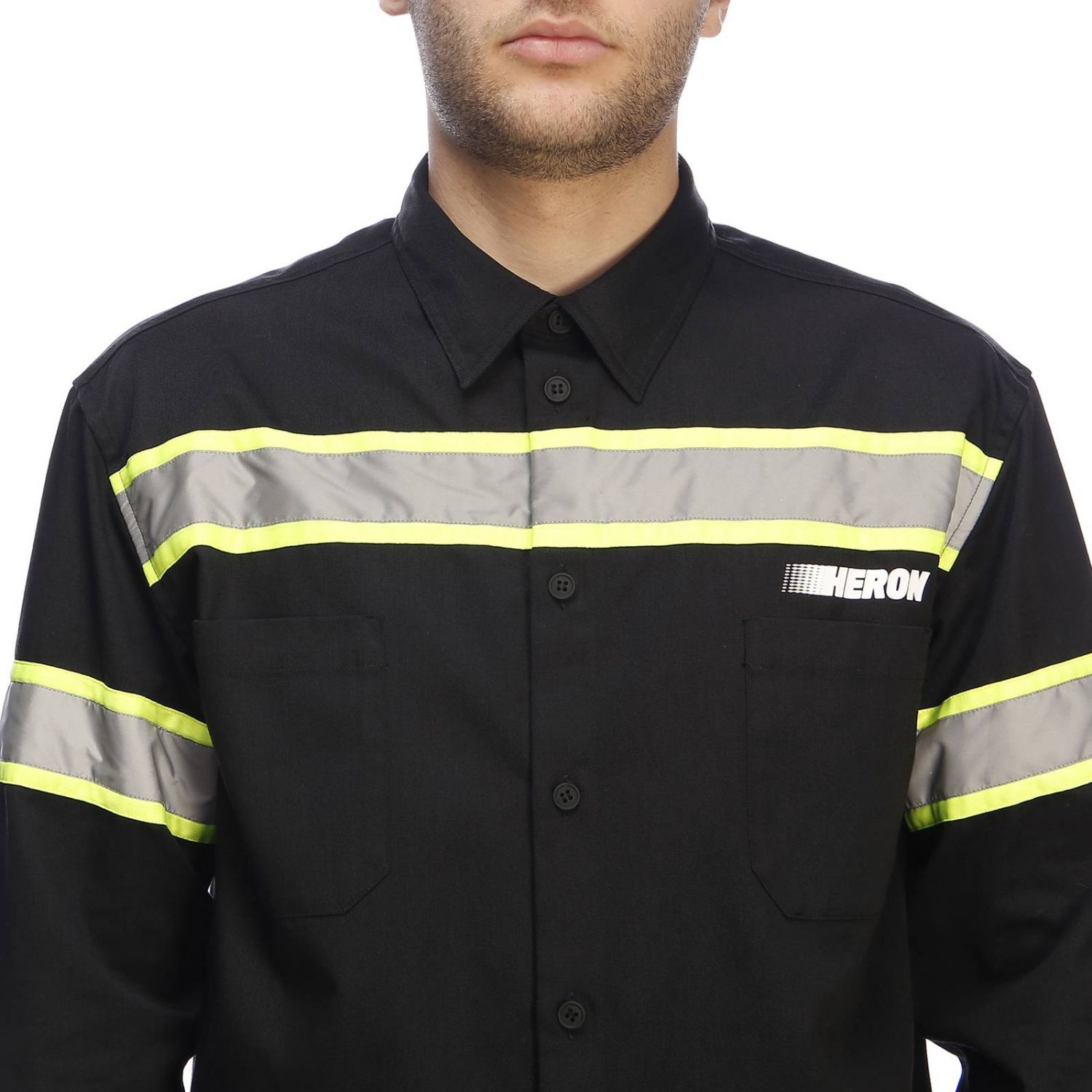 Shirt men Heron Preston black 4