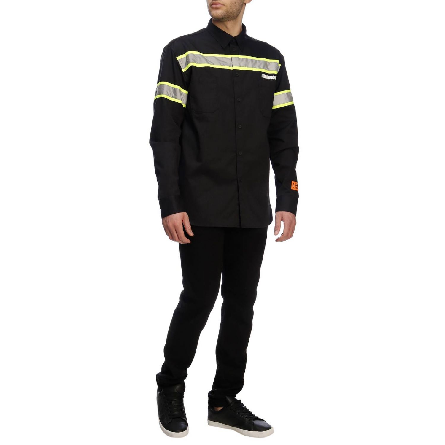 Shirt men Heron Preston black 5