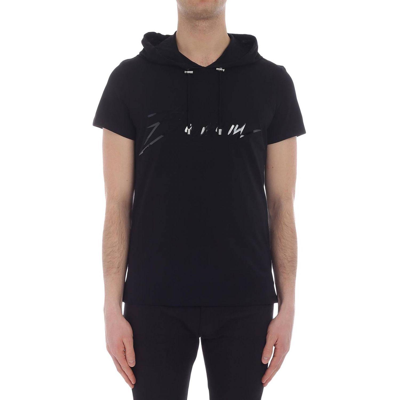 T-shirt Balmain: T-shirt homme Balmain noir 1 1