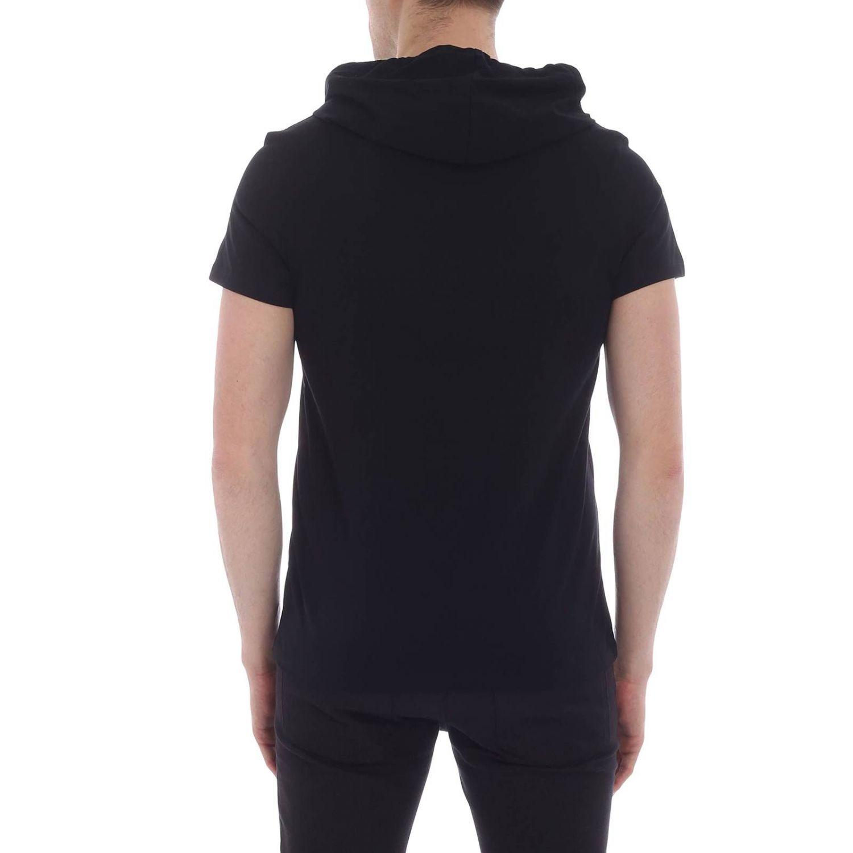 T-shirt Balmain: T-shirt homme Balmain noir 1 3