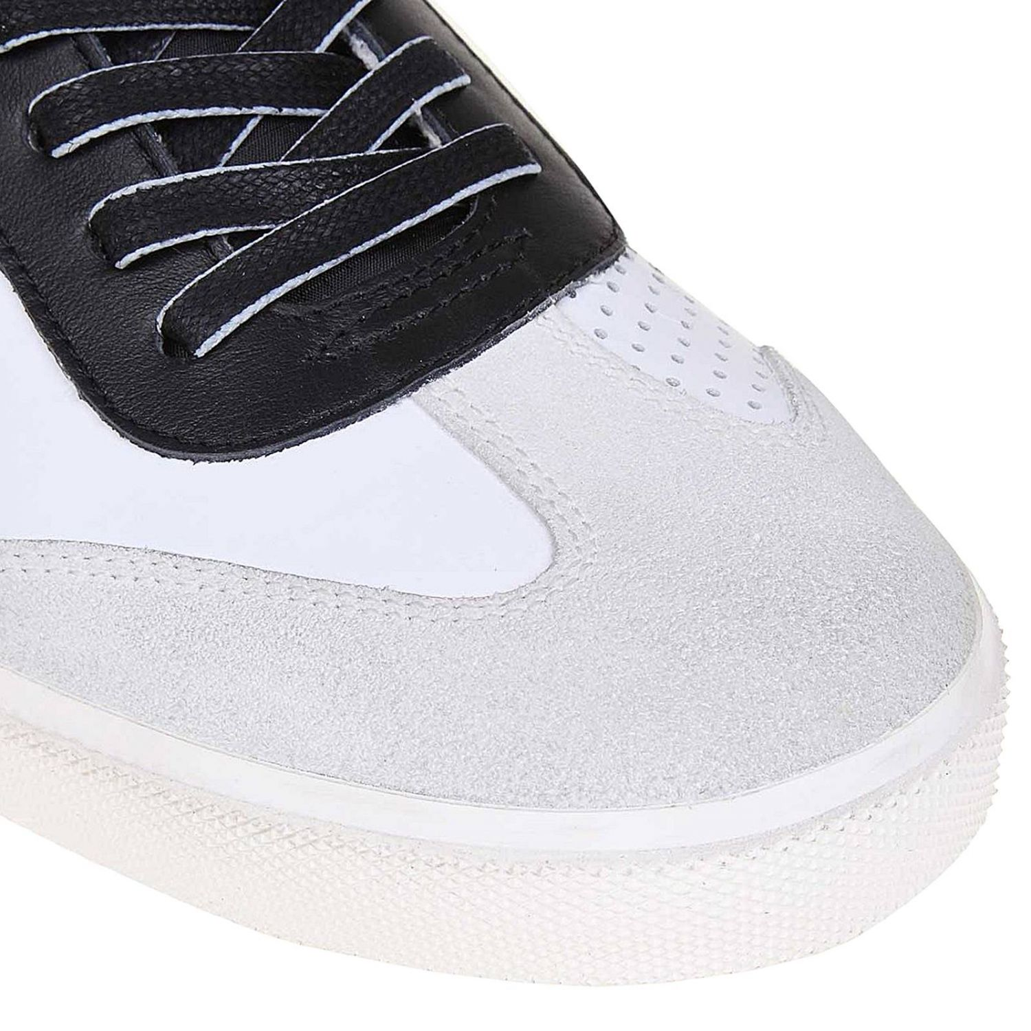 Trainers men Leather Crown white 3