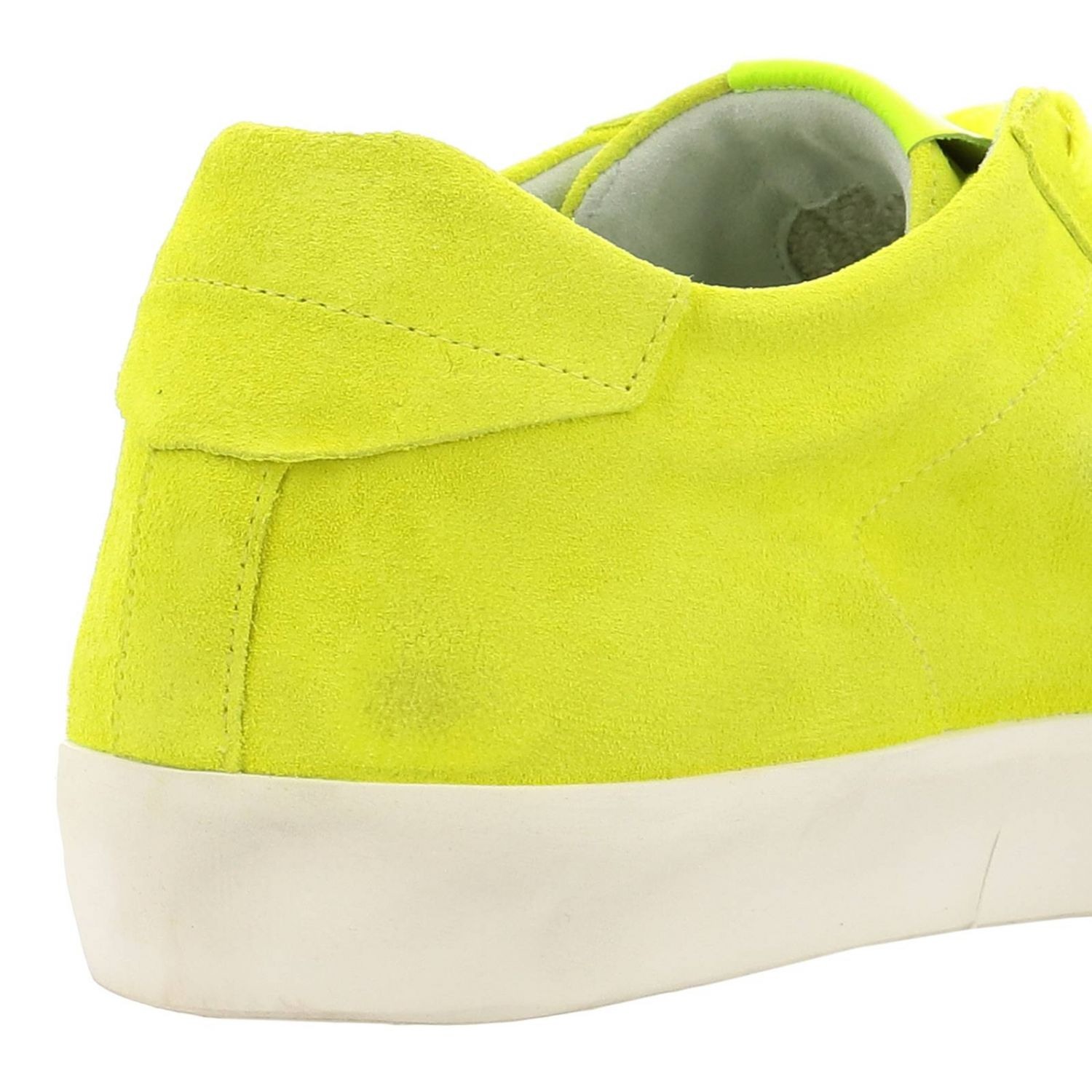 Trainers men Leather Crown yellow 4