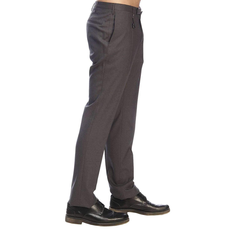 Pantalone Incotex classico a vita bassa grigio 2