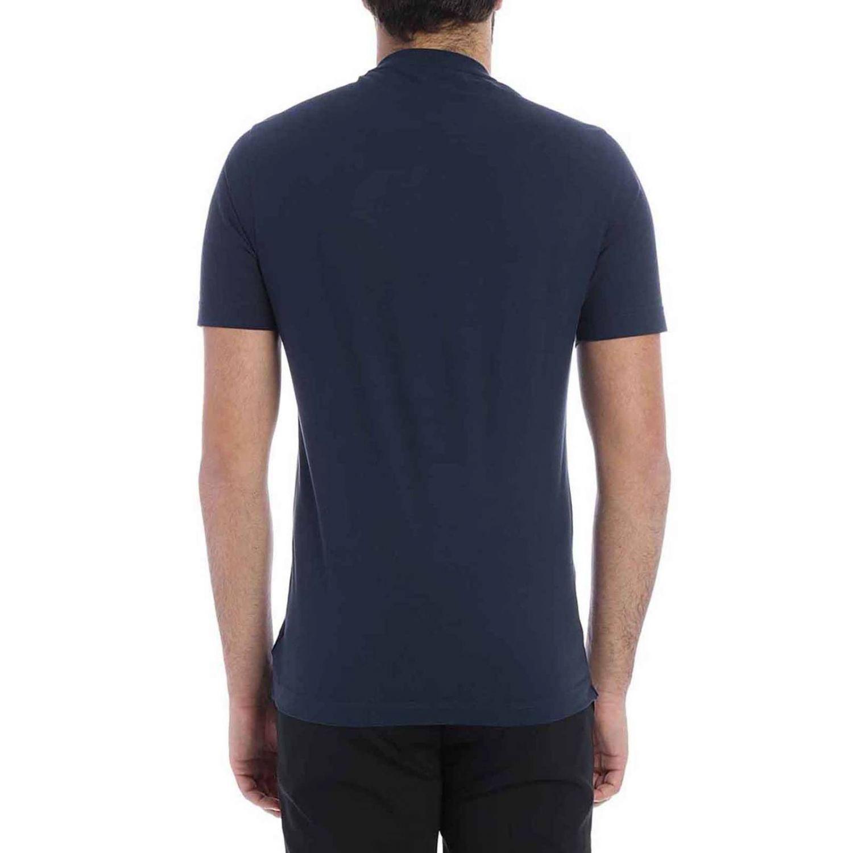 T-shirt Zanone a maniche corte basic blue 1 2
