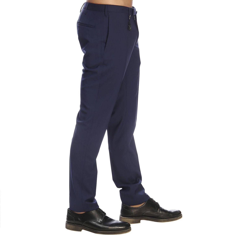 Pantalone Incotex classico a vita bassa inchiostro 2
