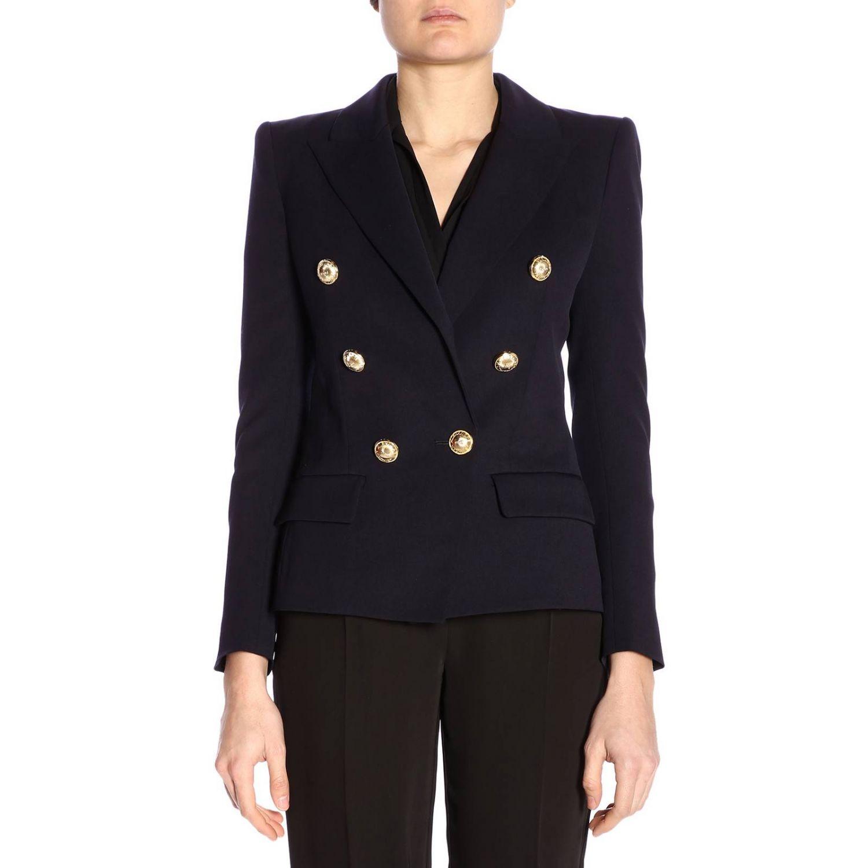 Jacket women Alexandre Vauthier blue 1
