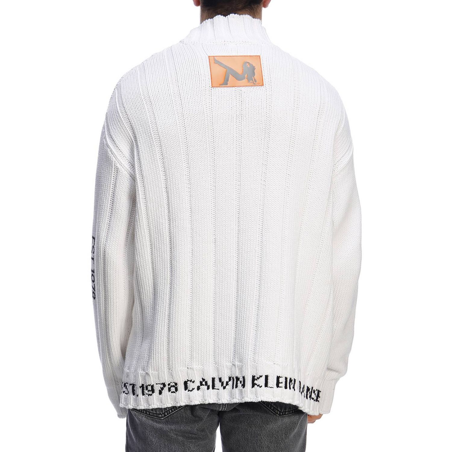 毛衣 男士 Calvin Klein Jeans Established 1978 白色 3