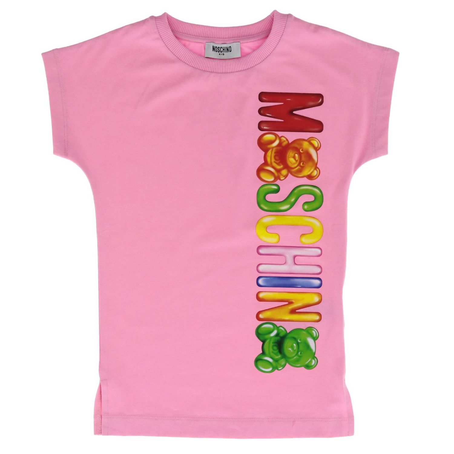 Dress kids Moschino Kid pink 1