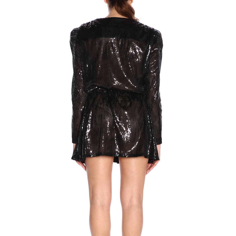 Kleid Amen: Kleid damen Amen schwarz 3