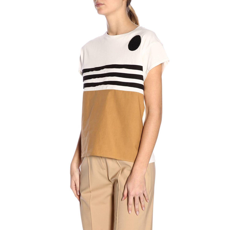T恤 女士 Alysi 奶白色 2