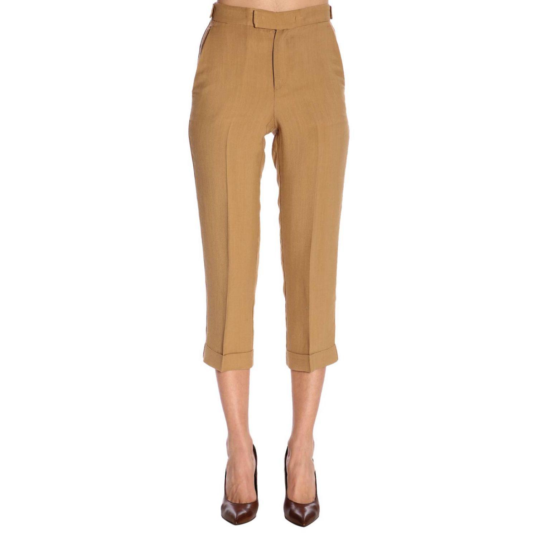 裤子 Twin Set: 裤子 女士 Twin Set 驼色 1