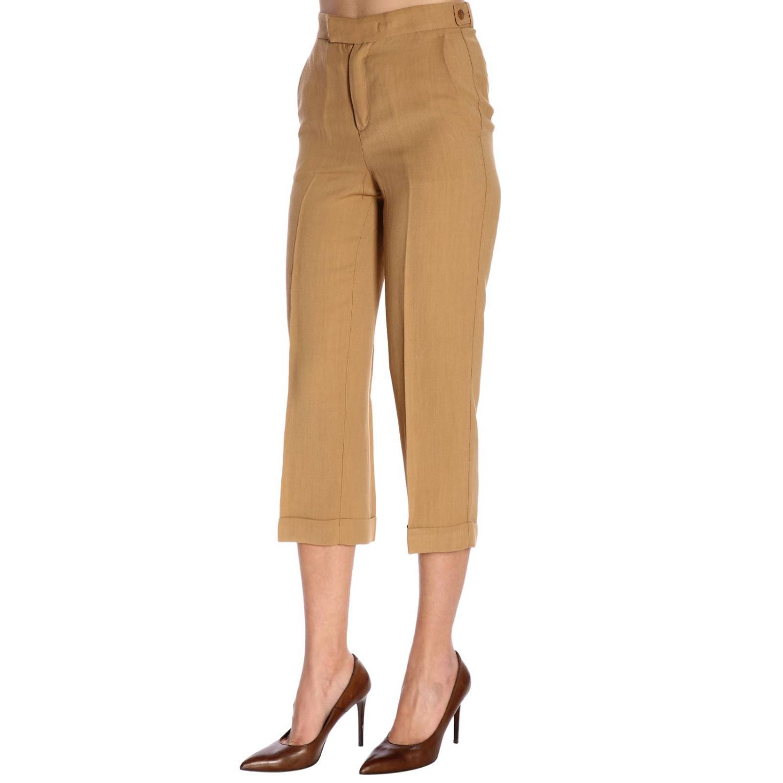 裤子 Twin Set: 裤子 女士 Twin Set 驼色 2