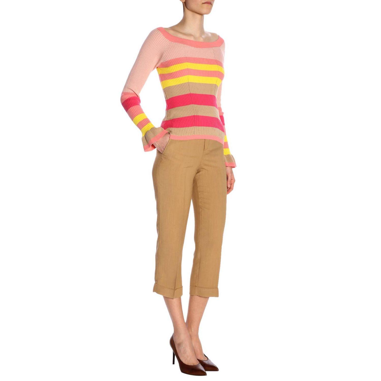 裤子 Twin Set: 裤子 女士 Twin Set 驼色 4
