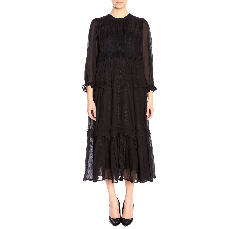 连衣裙 女士 Isabel Marant Etoile 黑色 1