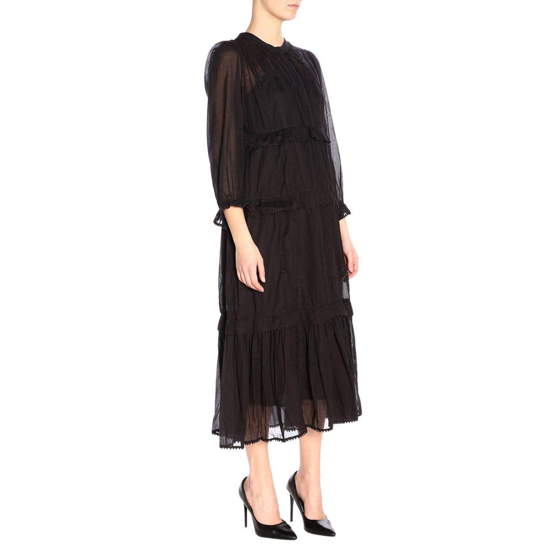 连衣裙 女士 Isabel Marant Etoile 黑色 2