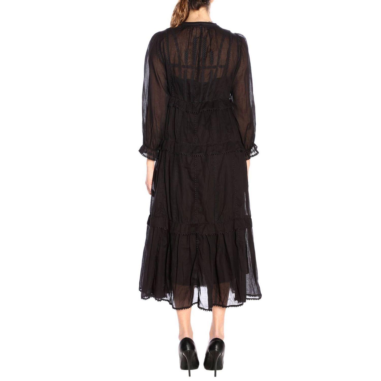 连衣裙 女士 Isabel Marant Etoile 黑色 3