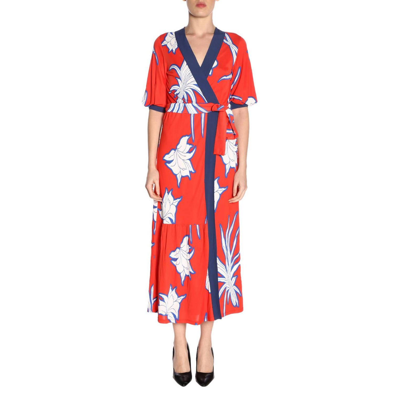Dress women Pinko red 1