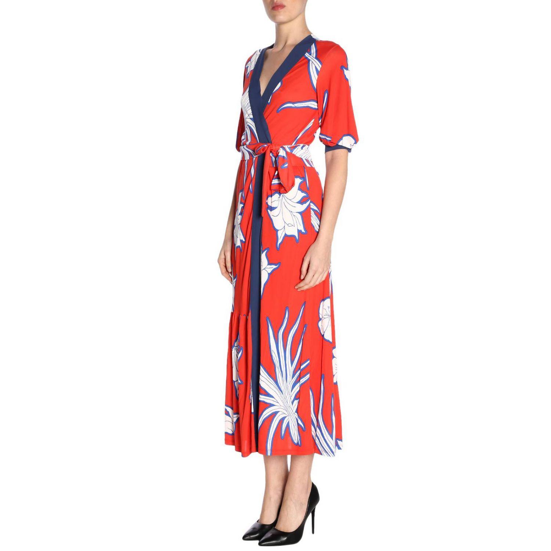 Dress women Pinko red 2