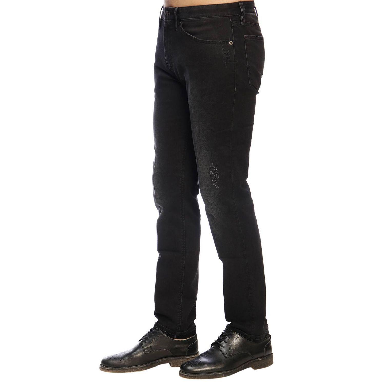 牛仔裤 男士 Pt 黑色 2
