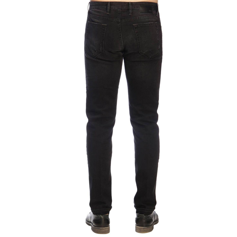 牛仔裤 男士 Pt 黑色 3