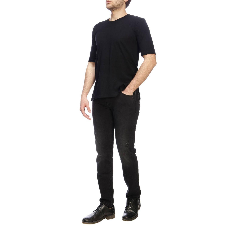 牛仔裤 男士 Pt 黑色 4
