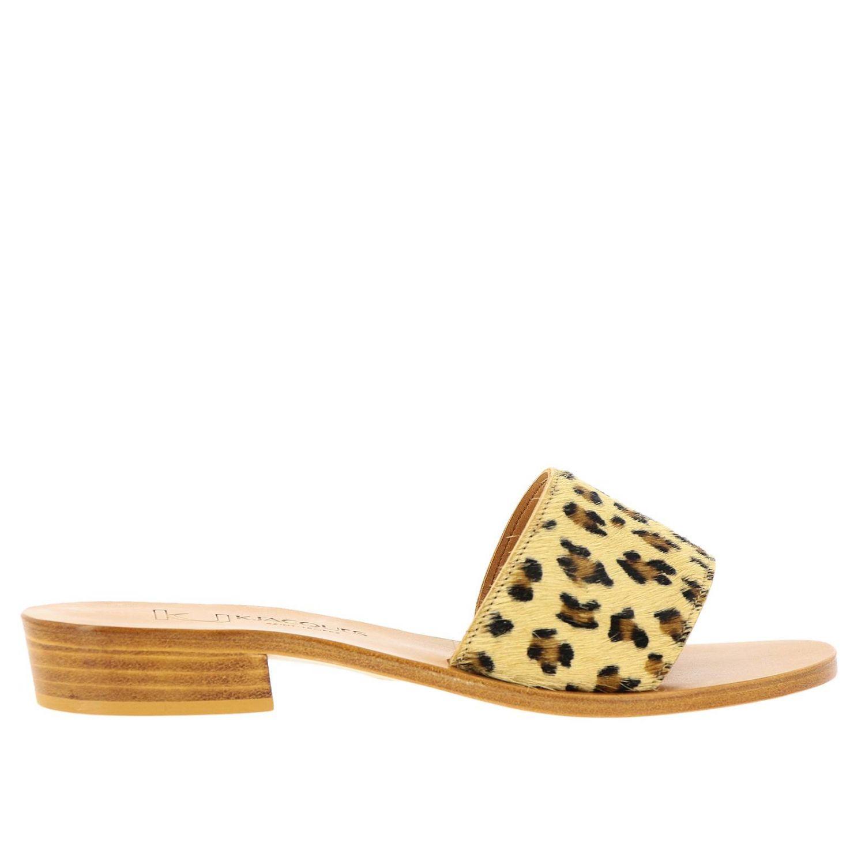 Heeled sandals women K. Jacques brown 1
