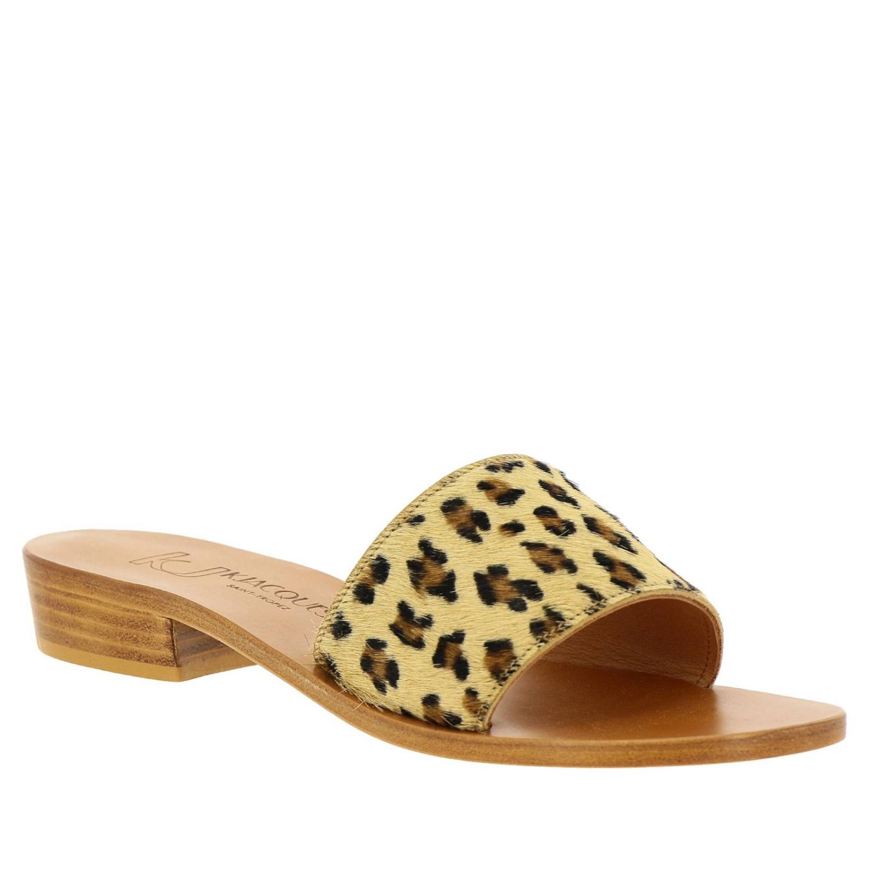 Heeled sandals women K. Jacques brown 2