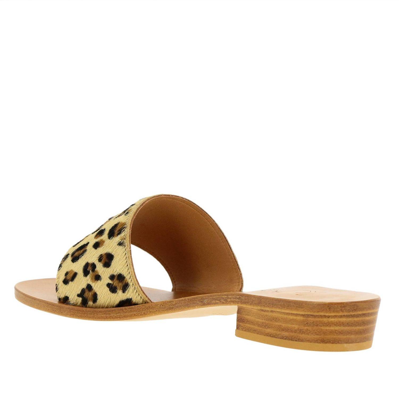 Heeled sandals women K. Jacques brown 3