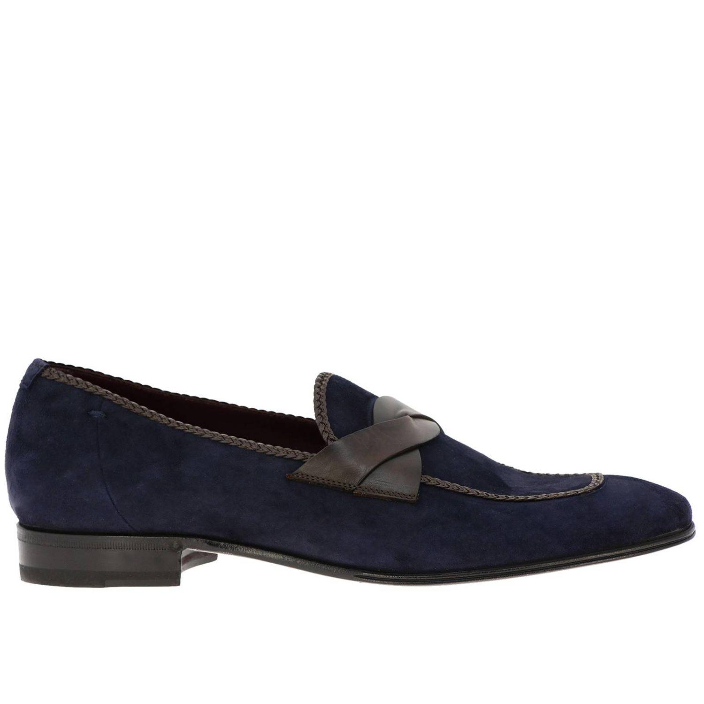 Loafers men Lidfort blue 1