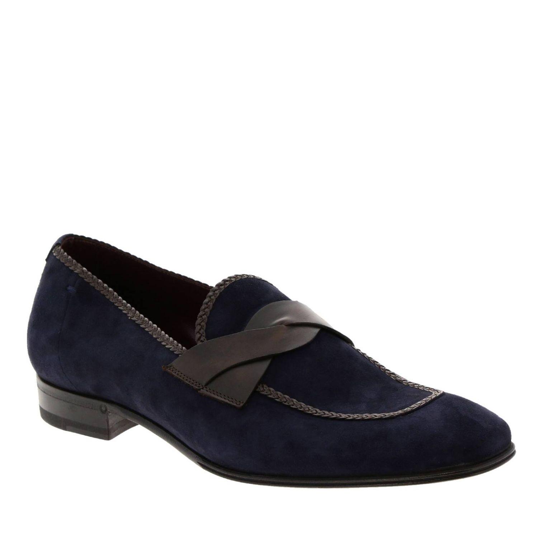 Loafers men Lidfort blue 2