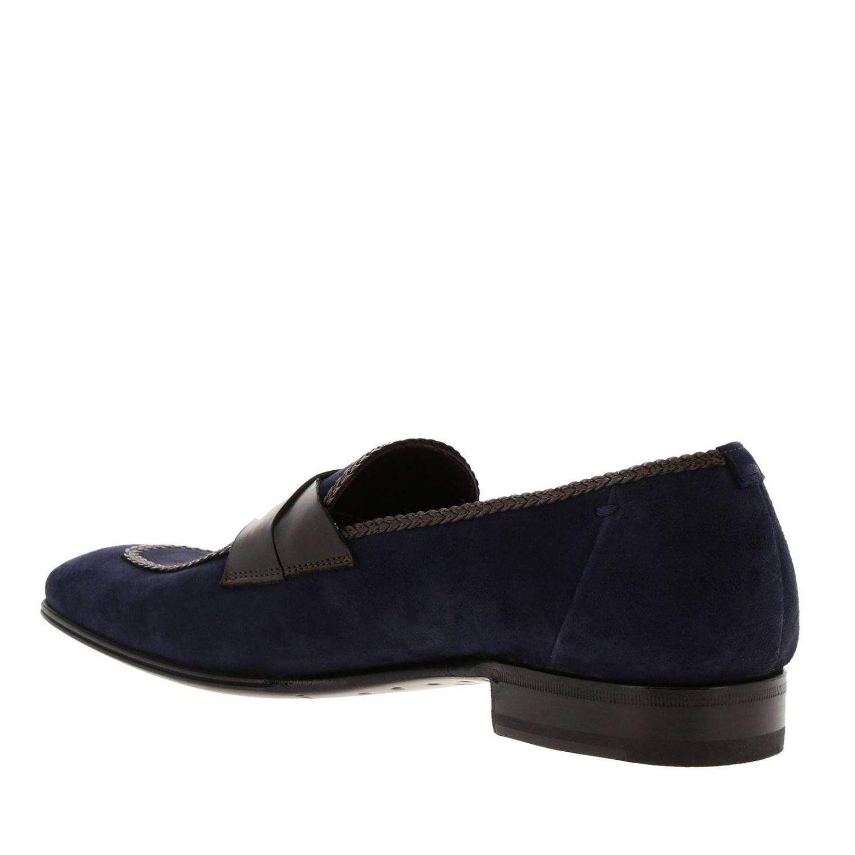 Loafers men Lidfort blue 3