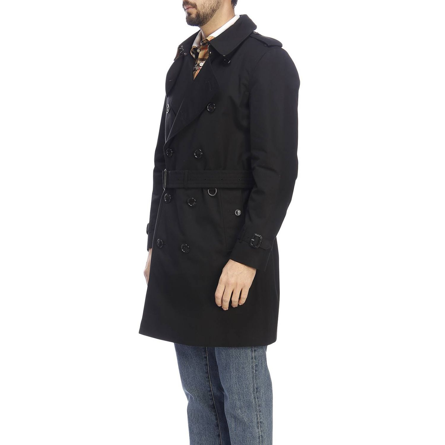 Trench Burberry: Trench homme Burberry noir 2