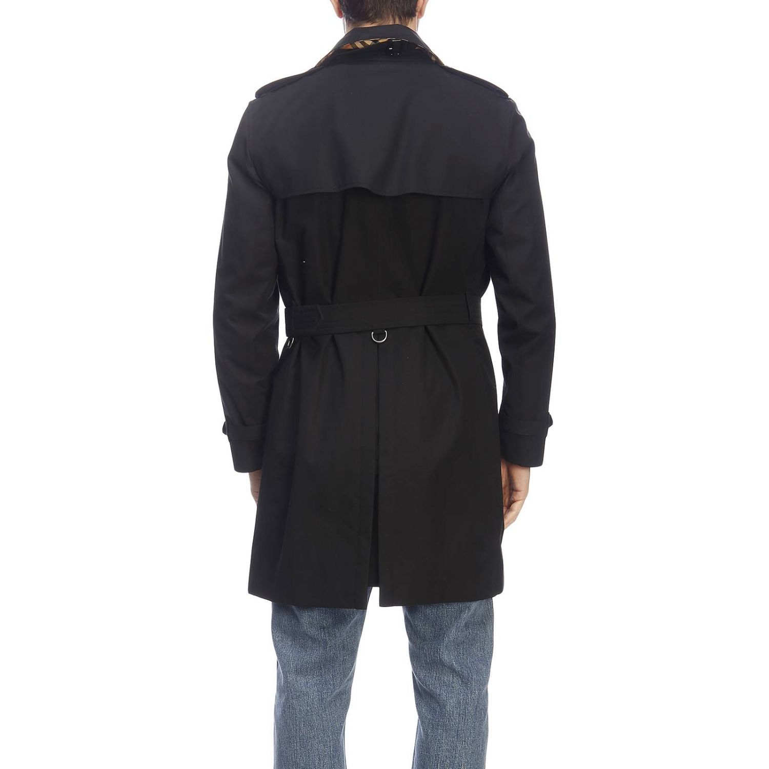 Trench Burberry: Trench homme Burberry noir 3