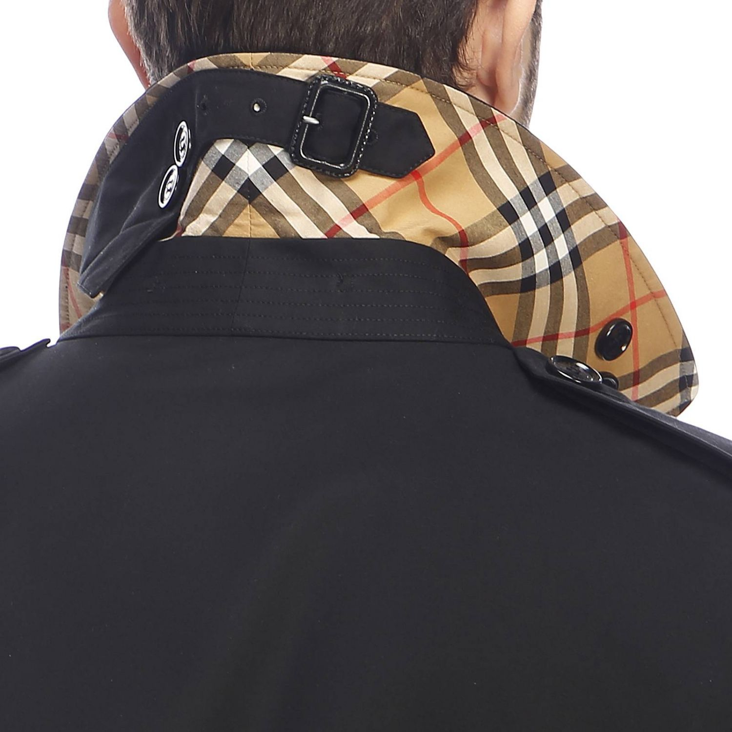 Trench Burberry: Trench homme Burberry noir 4
