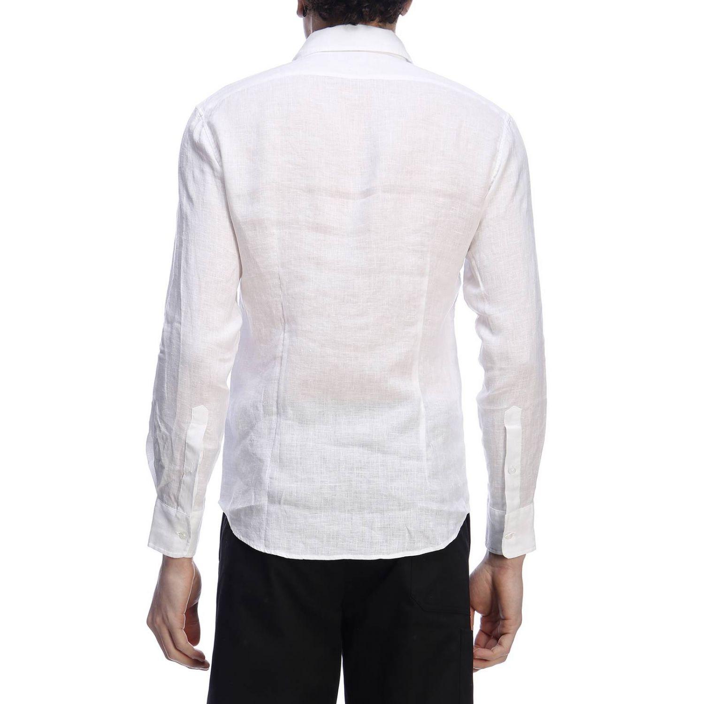 Рубашка Daniele Alessandrini: Рубашка Мужское Daniele Alessandrini белый 3