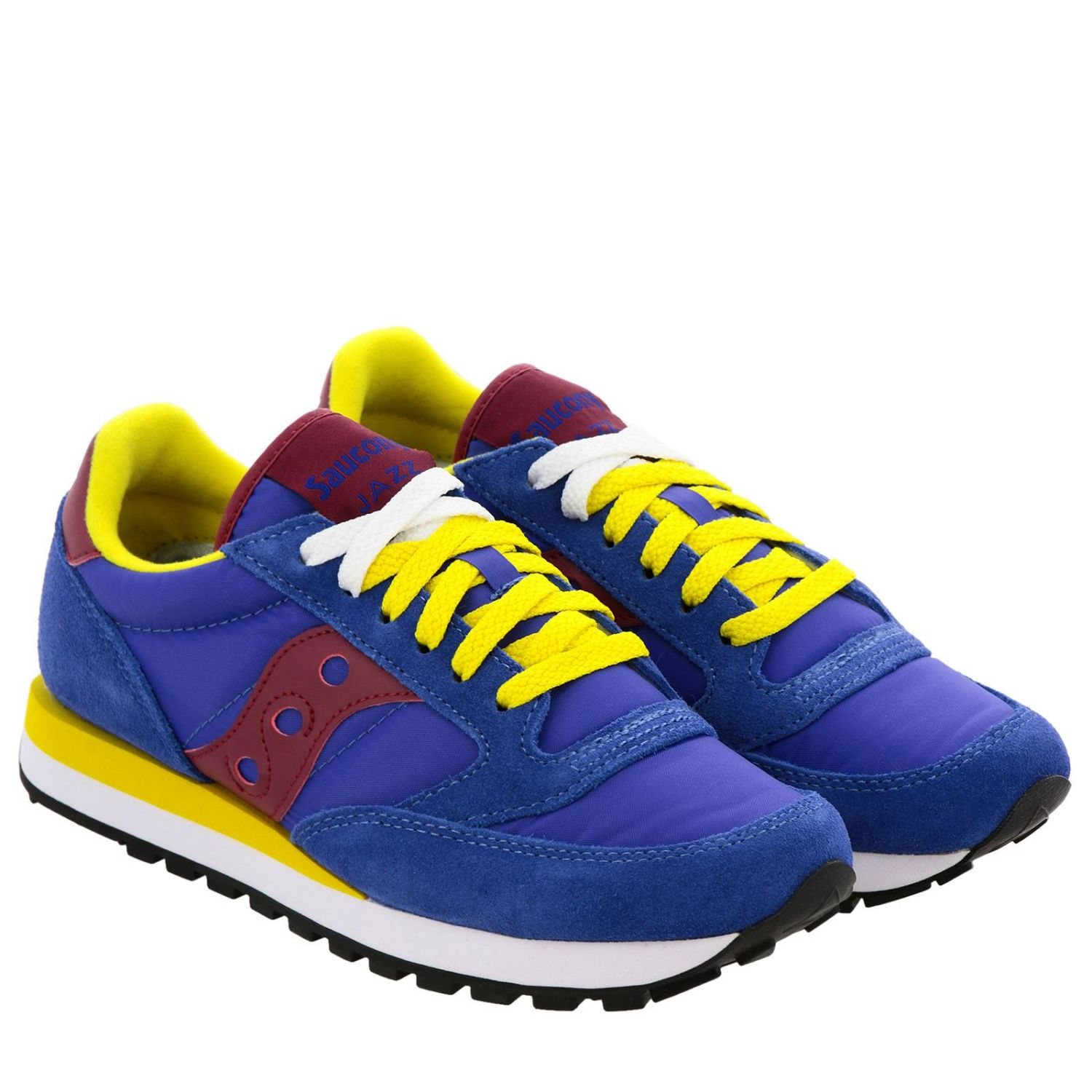 Sneakers Jazz Original Men Saucony in pelle scamosciata pelle liscia e nylon con intersuola Eva blue 2