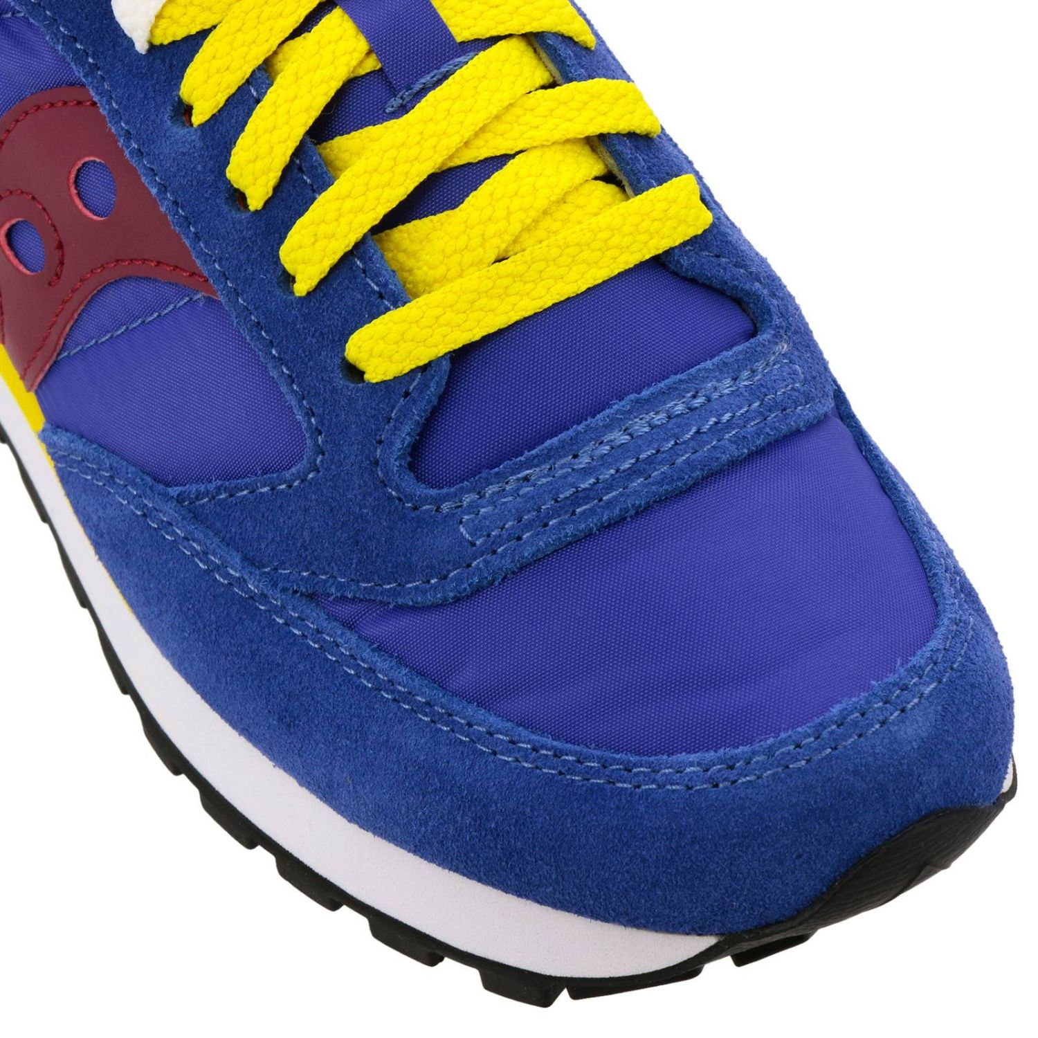 Sneakers Jazz Original Men Saucony in pelle scamosciata pelle liscia e nylon con intersuola Eva blue 3