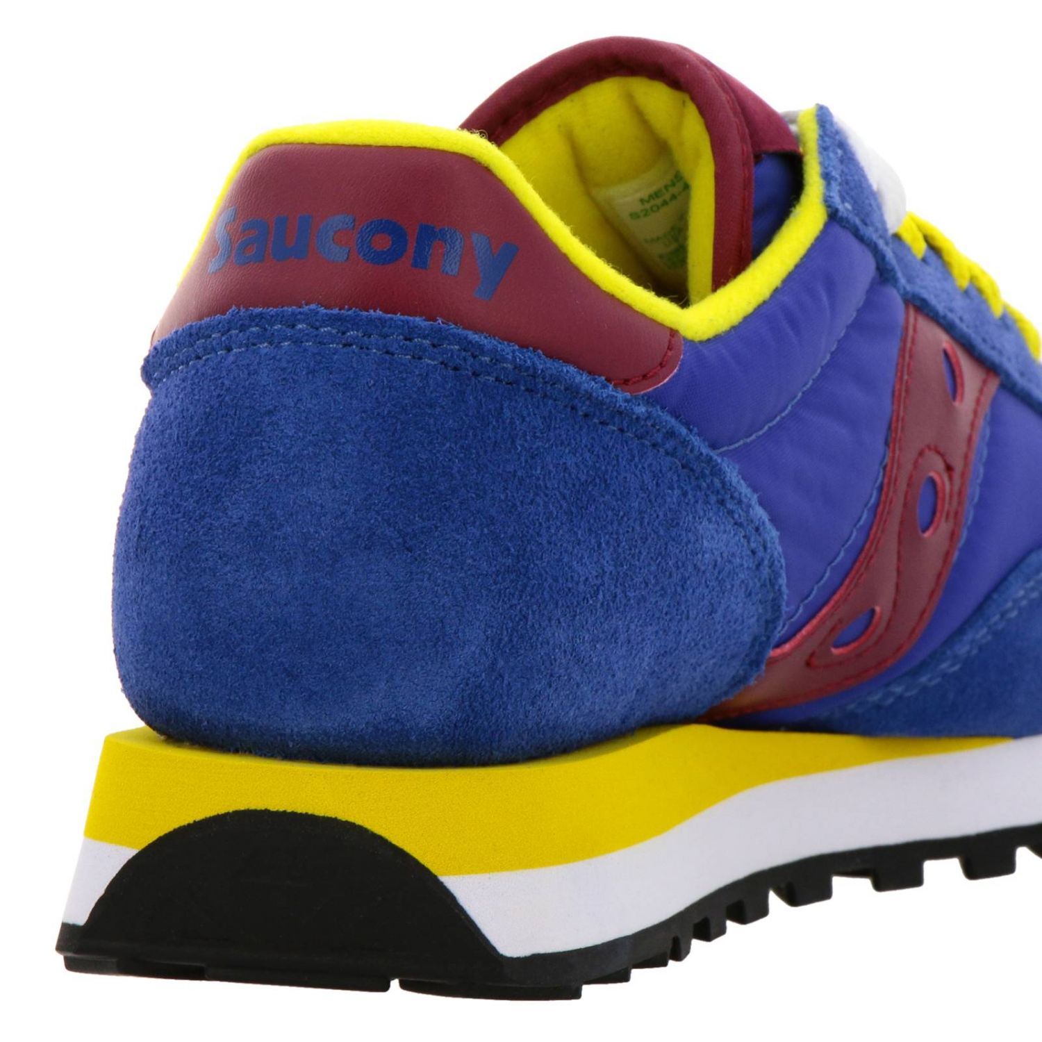 Sneakers Jazz Original Men Saucony in pelle scamosciata pelle liscia e nylon con intersuola Eva blue 4