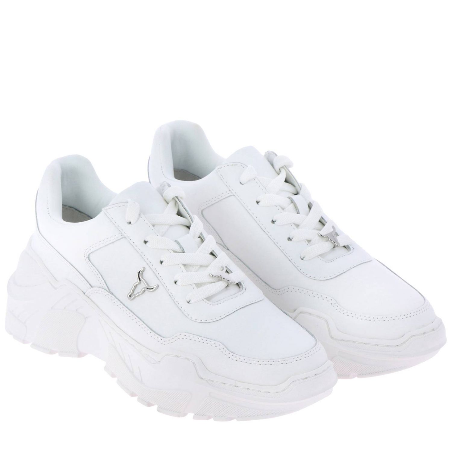 Sneakers women Windsorsmith white 2